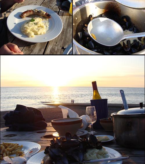 Je suis retournée manger à La Cale, un resto au décor toujours aussi magique! Il ne manquait que mon amie Marie-Claude pour rendre la soirée aussi «parfaite» que la première fois ;-)